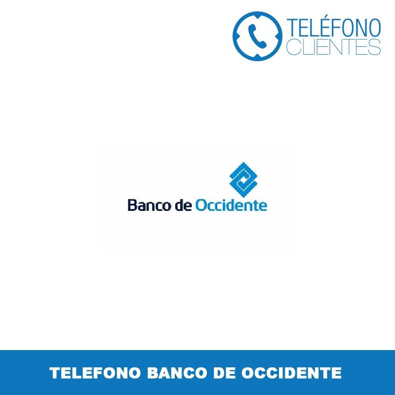 Telefono Banco de Occidente
