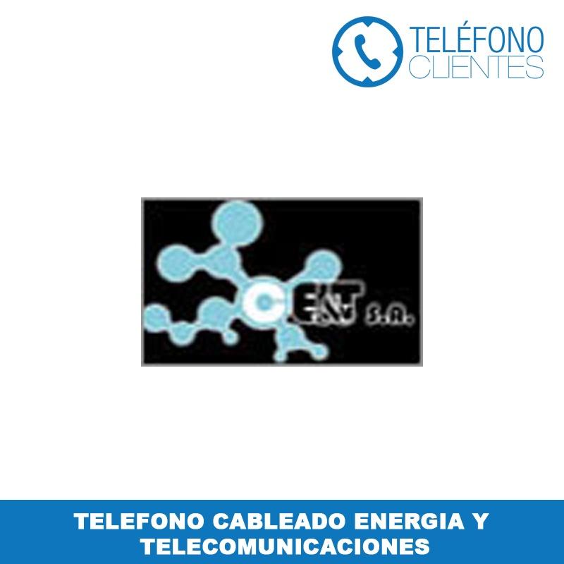 Telefono Cableado Energia y Telecomunicaciones
