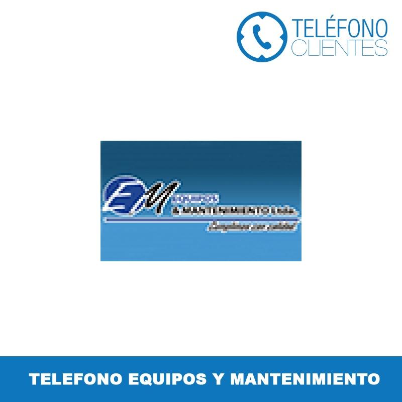 Telefono Equipos y Mantenimiento
